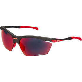 Rudy Project Agon Okulary rowerowe, graphite - rp optics multilaser red